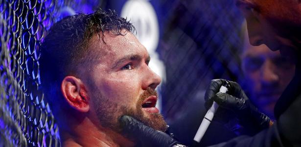 Chris Weidman perdeu para Ronaldo Jacaré no UFC 230