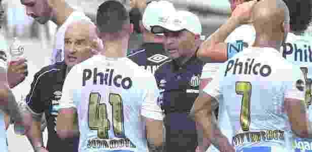 Sampaoli pediu permanência de Jean Mota, que estava de saída do clube - Ivan Storti/Santos FC