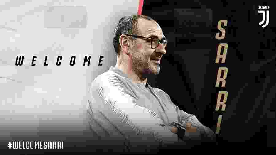 Juventus anuncia contratação de Maurizio Sarri - Divulgação