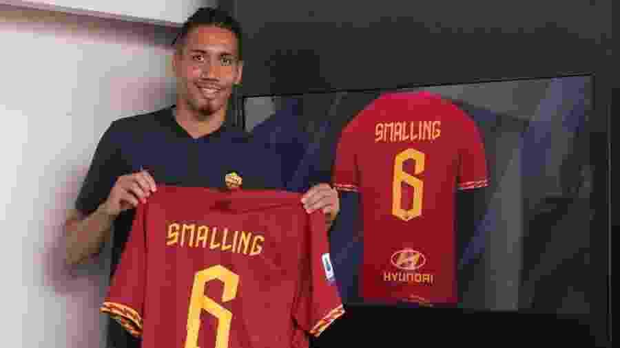 Smalling é anunciado como reforço da Roma - divulgação/Roma