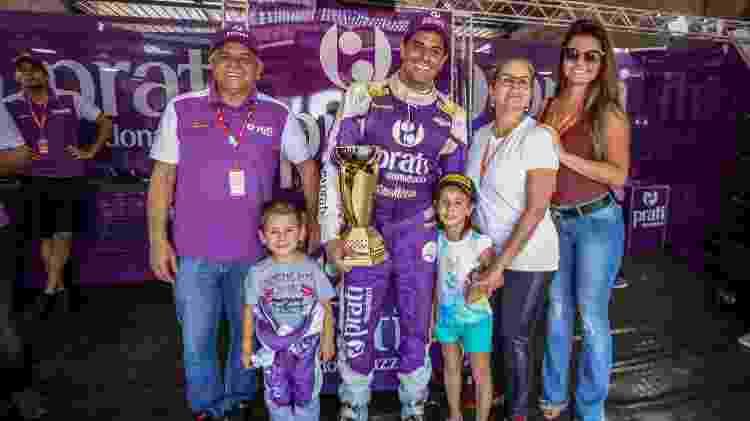 Família de Marco e Júlio Campos segue acompanhando o automobilismo - Rodrigo Guimaraes/Divulgação - Rodrigo Guimaraes/Divulgação
