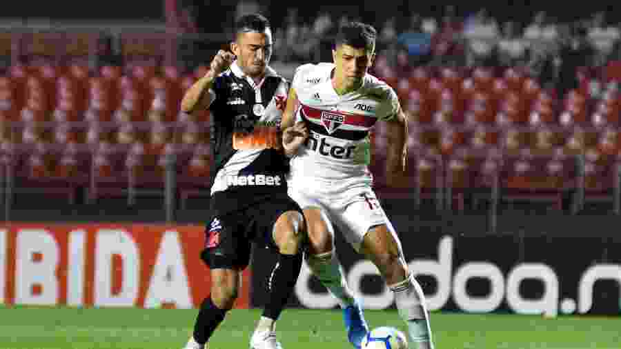 São Paulo venceu o Vasco por 1 a 0 hoje (28), no Morumbi (SP), pelo Campeonato Brasileiro - Bruno Ulivieri/AGIF