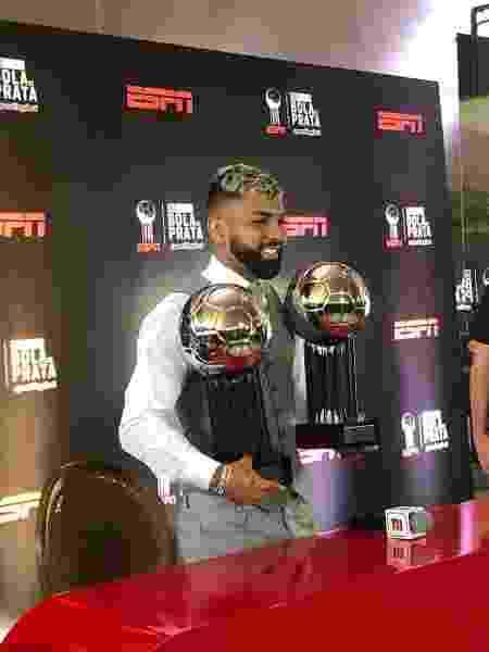 Atacante foi eleito o melhor centroavante do Brasileirão no Prêmio Bola de Prata - Beatriz Cesarini/UOL