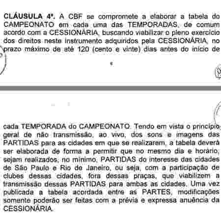 Cláusula 4 - Reprodução - Reprodução