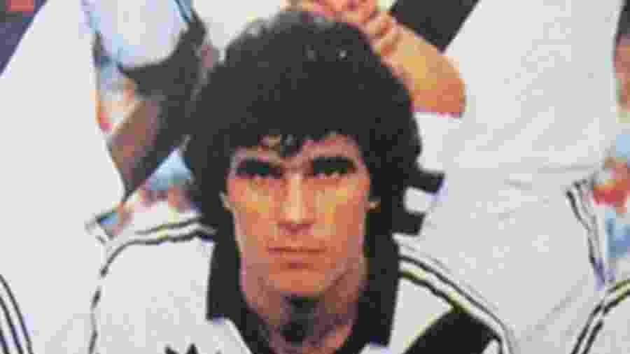 Henrique Kupper, volante do Vasco que participou do bicampeonato carioca de 1988 - Reprodução/Site do Vasco