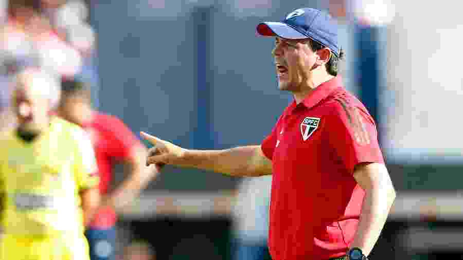 Técnico Fernando Diniz - Thiago Calil/AGIF