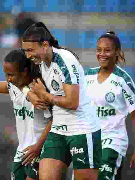 Em seu Twitter, tanto na versão em inglês quanto na brasileira, a Roma elegeu o Palmeiras como clube da semana - Reprodução/Instagram