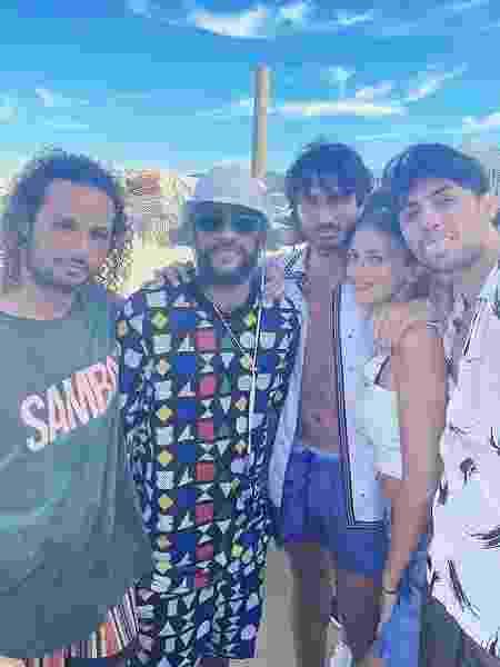 Neymar e amigos - Reprodução - Reprodução