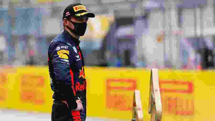 Verstappen ainda afirmou que briga por posição com Bottas divertiu corrida chata - Leonhard Foeger/Pool via Getty Images