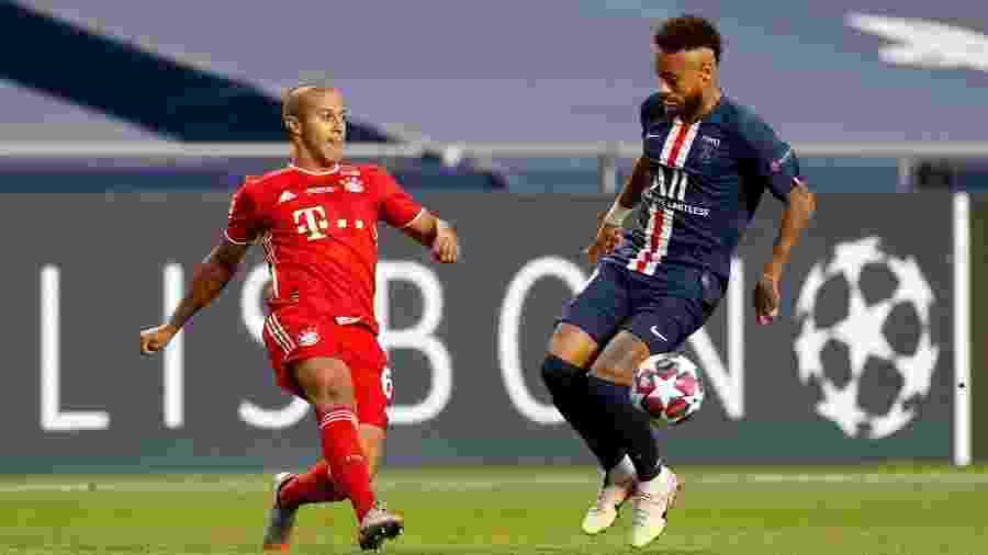 Thiago Alcântara pode trocar o Bayern pelo Liverpool - Pool/Getty Images