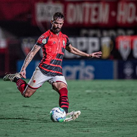Matheus Vargas marcou o gol do Atlético-GO - Reprodução