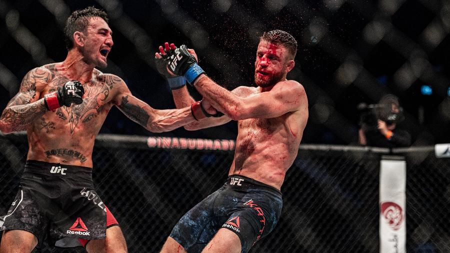 Max Holloway vence Calvin Kattarno UFC Fight Island 7 - Reprodução/Twitter