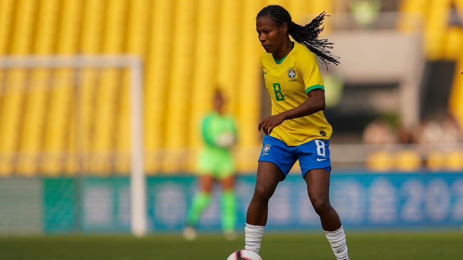 Formiga chegou ao Brasil para se apresentar ao São Paulo e exalta clube por apostar nas mulheres - Daniela Porcelli/CBF