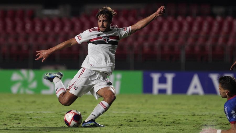 Igor Gomes, meio-campista do São Paulo, será titular contra o Mirassol - Rubens Chiri / saopaulofc.net