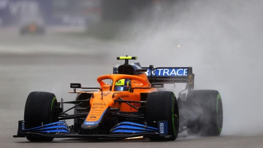 Lando Norris conquista primeira pole position no GP da Rússia - GettyImages