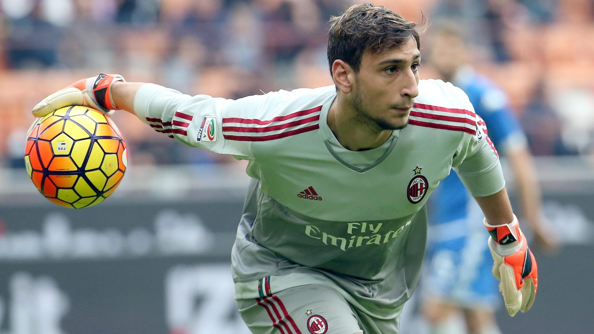Gianluigi Donnarumma, goleiro do Milan que tem apenas 16 anos