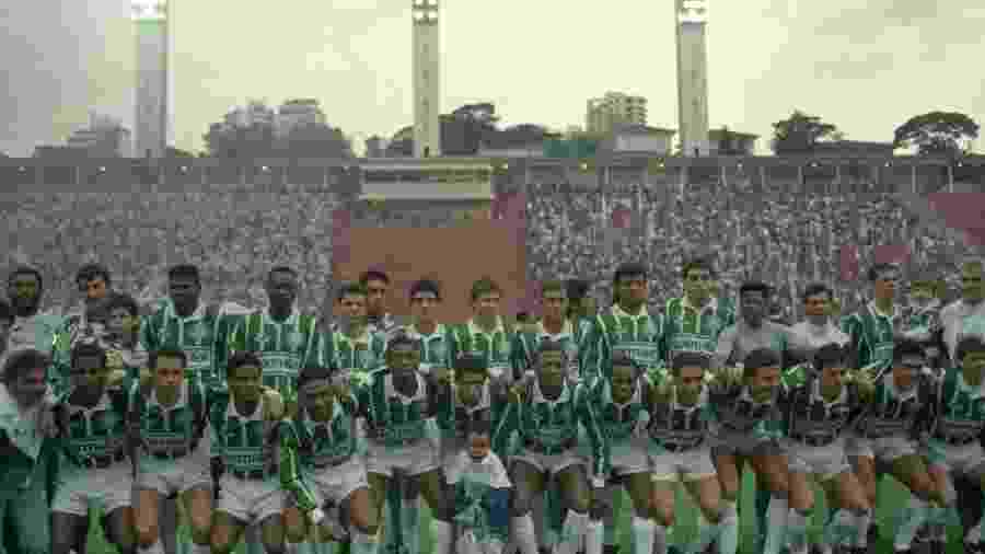 Rincón venceu o Campeonato Paulista de 1994 com o Palmeiras - Gaudério/Folhapress