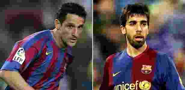 Belletti e Oleguer brigaram pelo posto de titular durante toda temporada - Arte/UOL Esporte - Arte/UOL Esporte