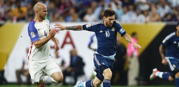Messi já marcou cinco gols na Copa América Centenário - USA Today Sports