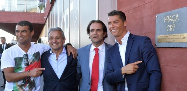 Cristiano Ronaldo inaugurou hotel com seu nome nesta sexta-feira