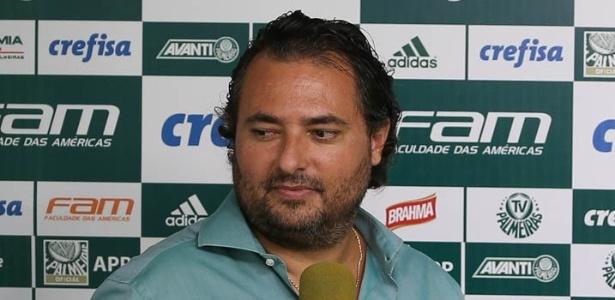 Alexandre Mattos falou sobre o Palmeiras no mercado da bola