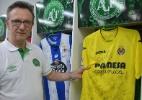 Jornal entrega camisa de 20 clubes espanhóis à Chapecoense