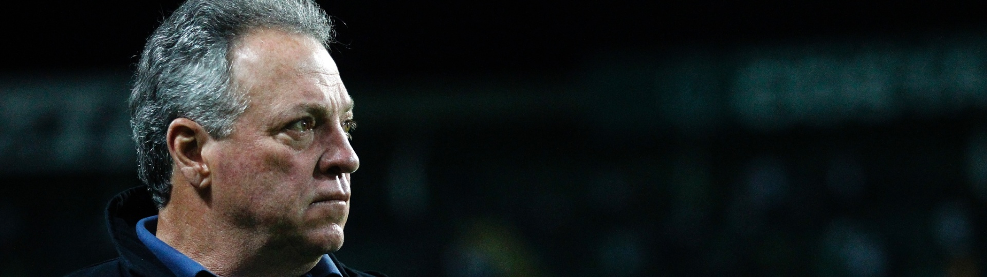 Abel Braga, técnico do Fluminense, em partida contra o Coritba pelo Campeonato Brasileiro 2017