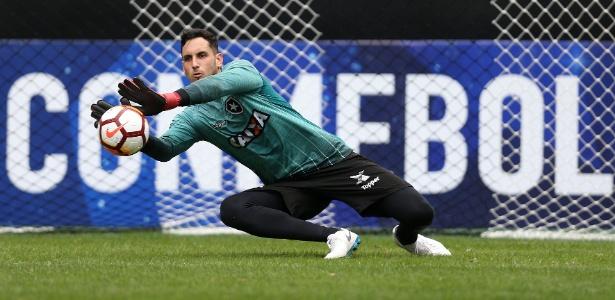 Gatito Fernández em ação, goleiro voltou e ajudou a mudar o rumo do Botafogo