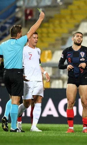 Kovacic recebe cartão amarelo no confronto entre Croácia e Inglaterra