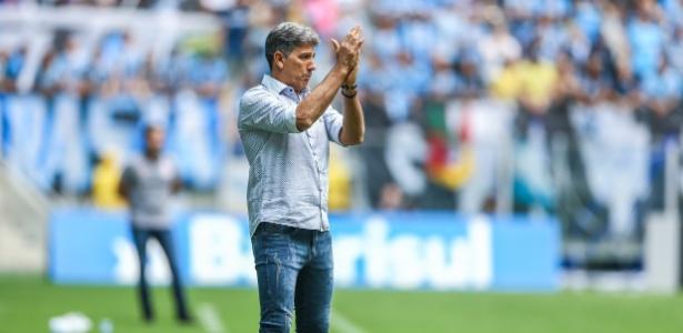 Técnico foi cotado para assumir o Flamengo em 2019 - Lucas Uebel/Grêmio FBPA