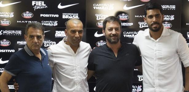 Corinthians encerrou as buscas no mercado da bola depois de sete contratações