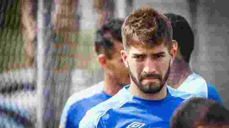 Volante Lucas Silva, em treinamento do Cruzeiro - Vinnicius Silva/Cruzeiro - Vinnicius Silva/Cruzeiro