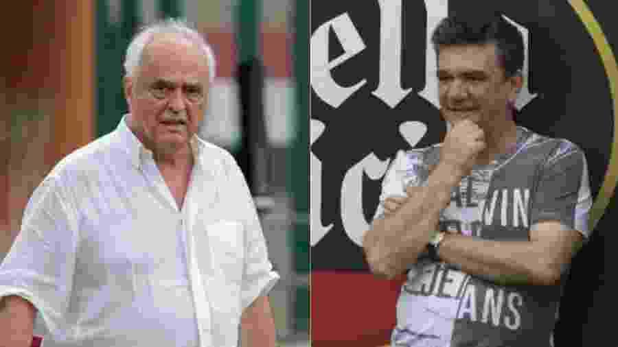 Montagem Leco e Andrés Sanchez - Marcello Zambrana/AGIF e Daniel Augusto Jr./Ag. Corinthians