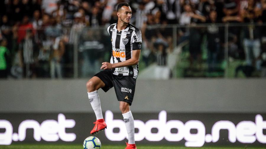 Réver, zagueiro do Atlético-MG, perdeu pênalti contra o Colón - Bruno Cantini/Atlético-MG