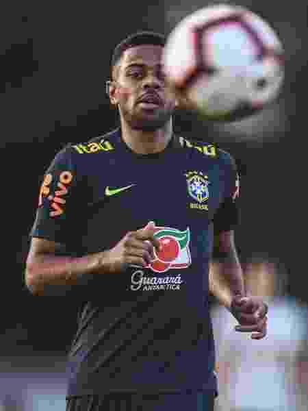 Renan Lodi, lateral esquerdo da seleção brasileira - Pedro Martins/Mowa Press - Pedro Martins/Mowa Press
