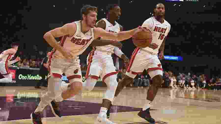 Ritmo intenso desde o primeiro dia de pré-temporada difere o Miami Heat do restante da NBA - Richard Mackson/USA Today