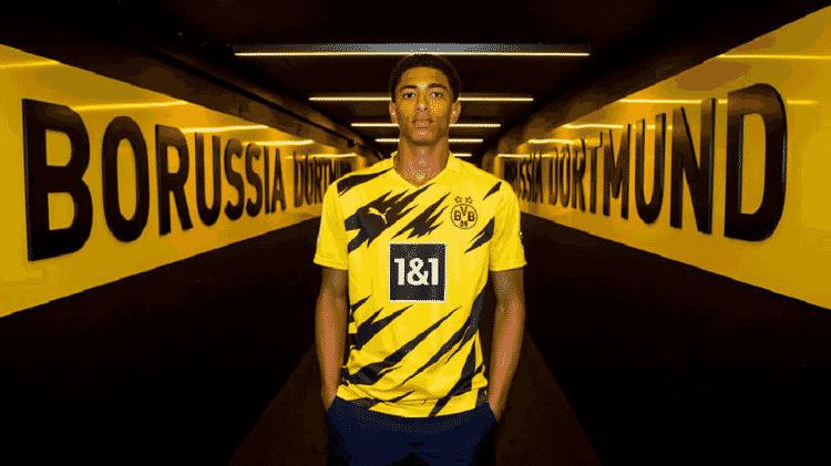 Bellingham - Divulgação/Borussia Dortmund - Divulgação/Borussia Dortmund