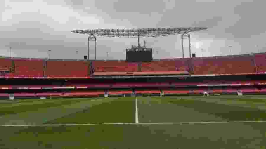 Estádio do Morumbi vai receber o jogo entre Palmeiras e Santos - Divulgação/Corinthians