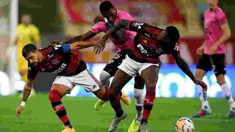 Flamengo x Del Valle - Carl de Souza-Pool/Getty Images - Carl de Souza-Pool/Getty Images