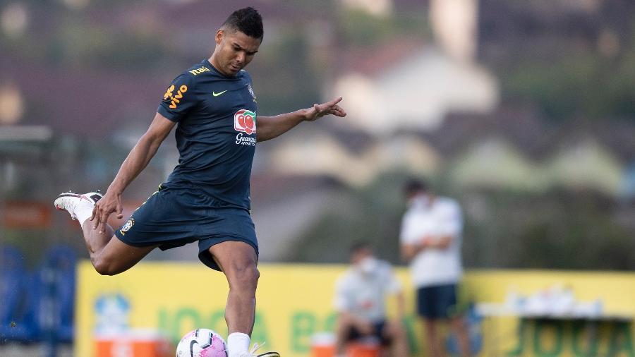 Volante de 28 anos ocupará o posto que vinha sendo de Daniel Alves, não convocado - Lucas Figueiredo/CBF