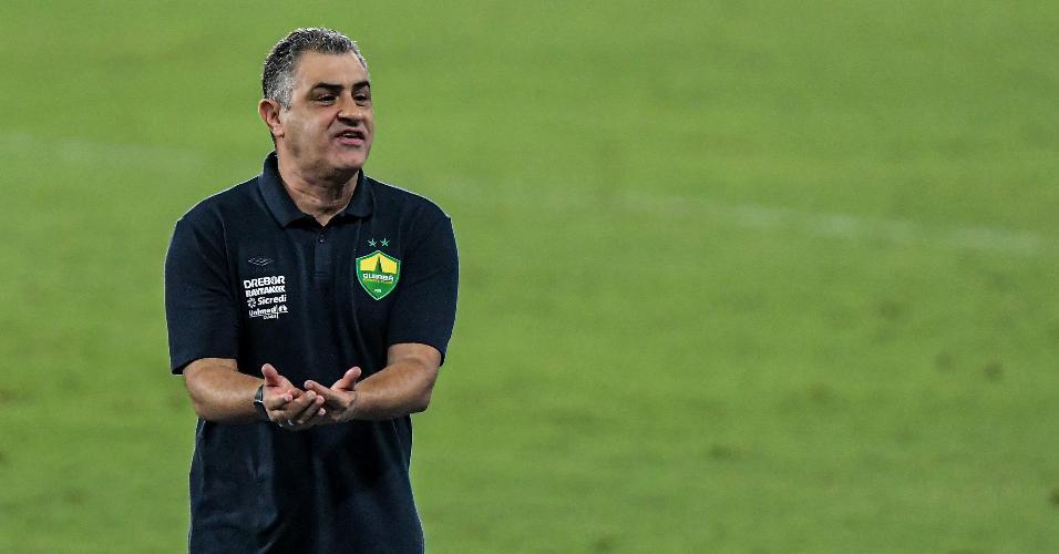 Marcelo Chamusca, técnico do Cuiabá