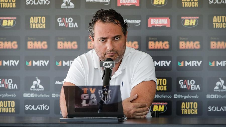 Alexandre Mattos não chegou a um acordo com Grêmio, mas foi procurado - Bruno Cantini/Agência Galo