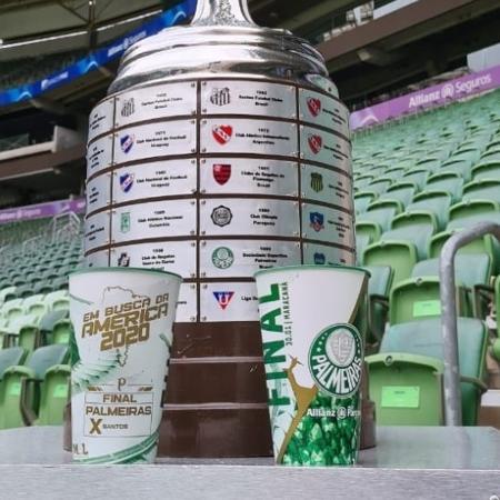 Copa especial do Palmeiras para a Libertadores - Reprodução