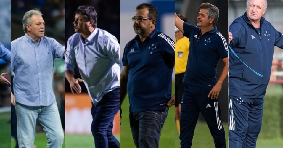 Depois de Mano passaram pelo Cruzeiro Ceni, Abel, Adilson, Enderson, Ney Franco e Felipão