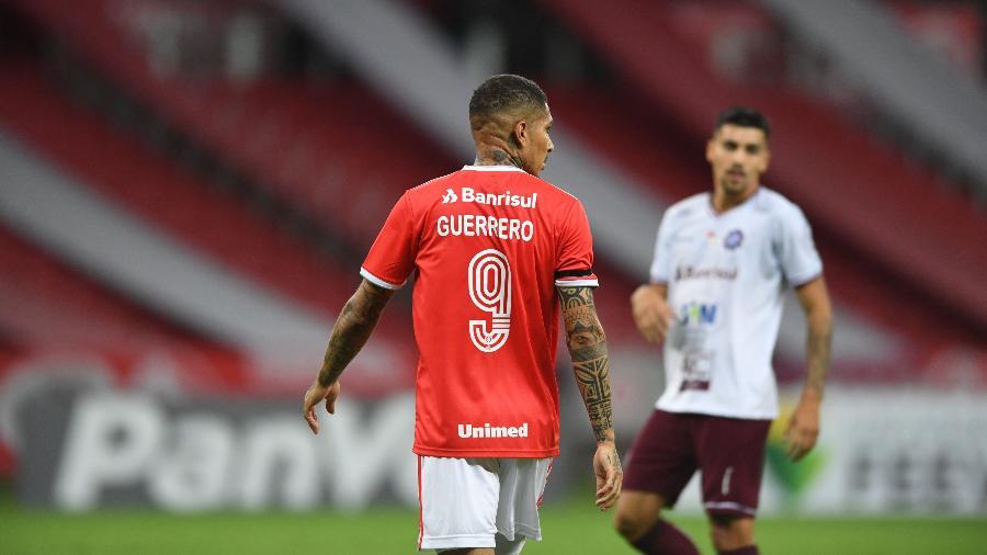 Guerrero, atacante do Internacional, está com situação incerta no clube - Divulgação