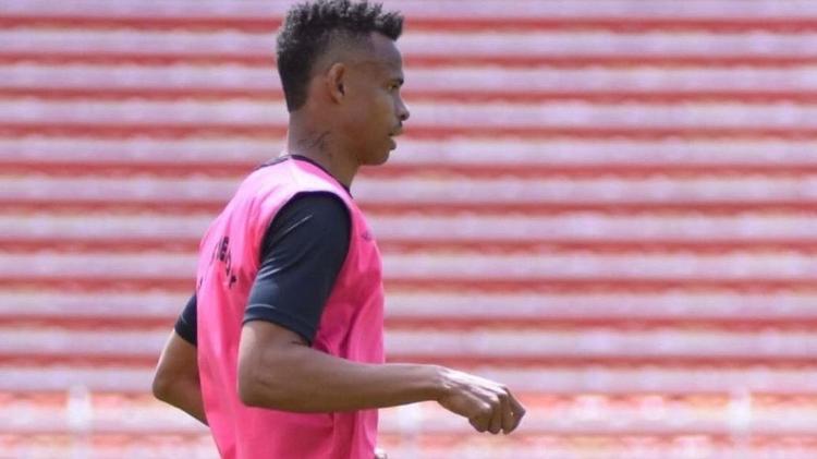 Mascote participa de treinamento pelo Always Ready, rival do Inter na Libertadores - Arturo Orgaz/Always Ready - Arturo Orgaz/Always Ready