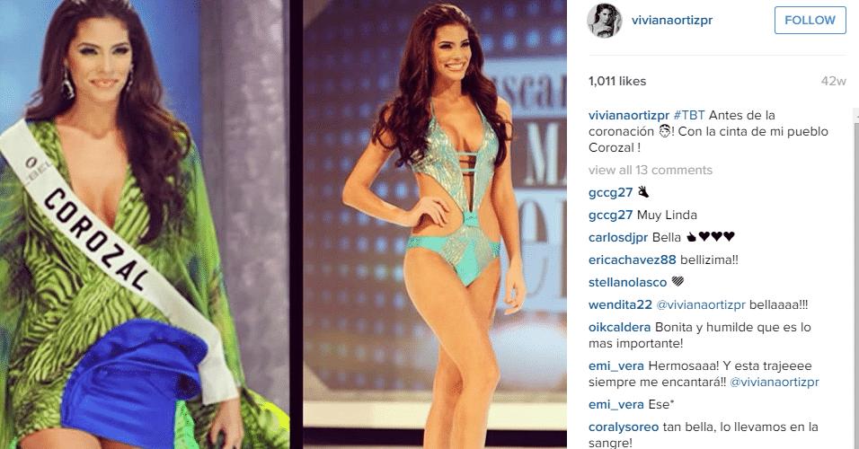 Viviana Ortiz Pastrana, Miss Porto Rico e ex-namorada de Barea