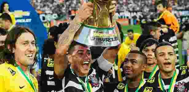 Corinthians foi o campeão do último Campeonato Brasileiro - Eduardo Knapp/Folhapress.