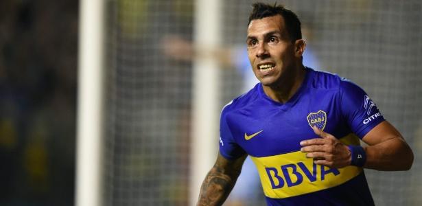 Tevez voltou ao Boca Juniors no segundo semestre de 2015 - EITAN ABRAMOVICH/AFP