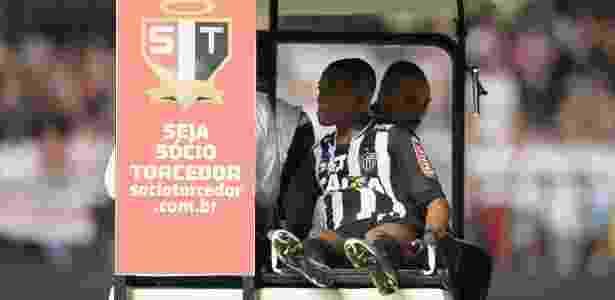 Robinho deixa jogo entre São Paulo e Atlético-MG nas quartas de final da Libertadores - Friedemann Vogel / Freelancer